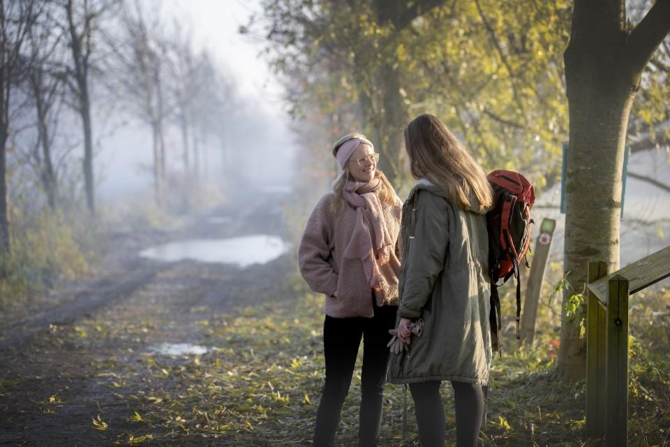 wandelen in het waasland
