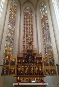 Zwölfbotenaltar Rothenburg