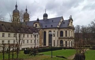 Außenansicht Klosterkirche Schöntal