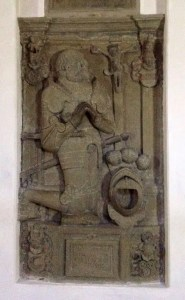 Steinernes Grabmal Götz von Berlichingen