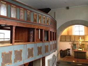 Im Innern der Jakobuskirche Jagsthausen
