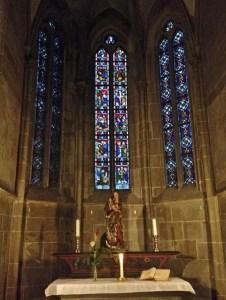 Striftskirche St. Peter in Bad Wimpfen im Tal.