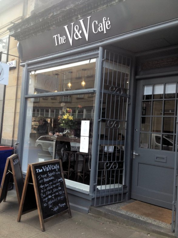 the va and v cafe