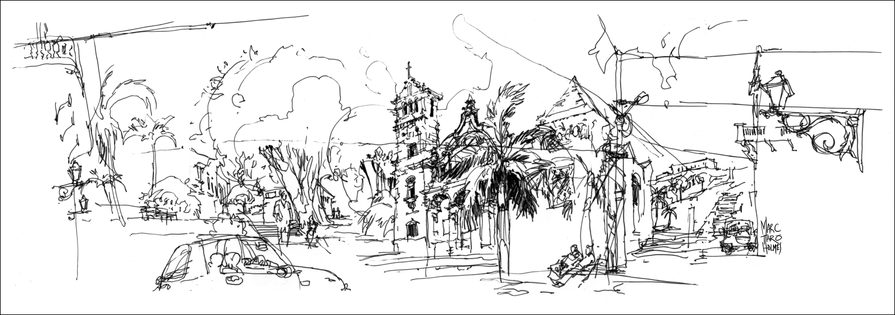 Bringing People And Places To Life Fluid Travel Sketches