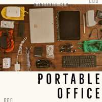 How to Build a Portable Office for Travel & Remote Work