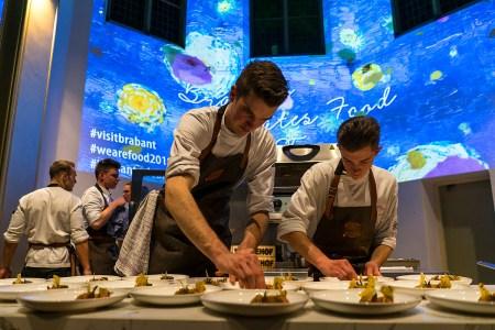 Pop Up Restaurant en Den Bosch