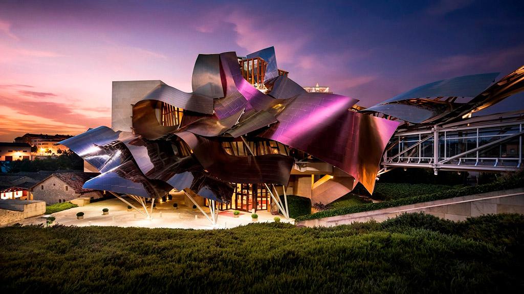 Bodega Marqués de Riscal diseñada por Frank Gehry