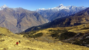 Kuari Pass and Pangarchulla trek, Himalaya, Uttarakhand, India