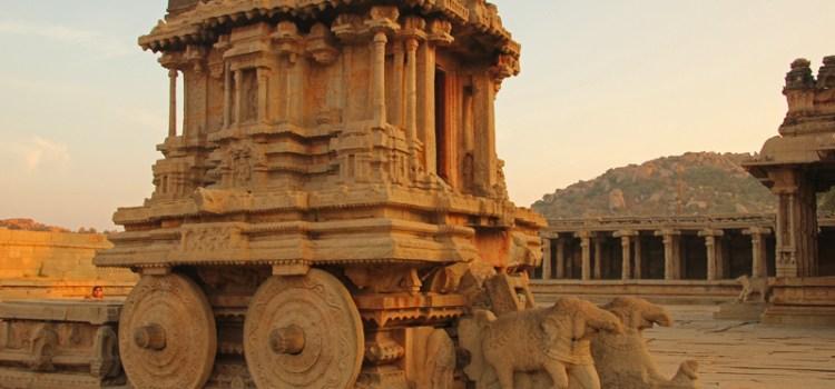The majestic Vitthala Temple, Hampi, Karnataka