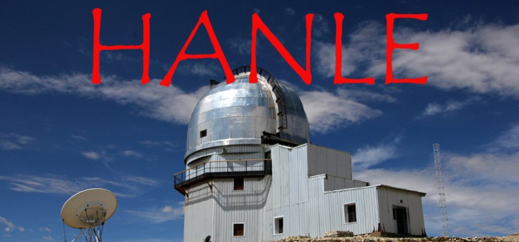 Hanle- Into the World's Highest Observatory