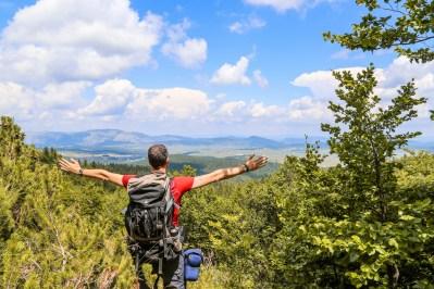 Reizen Montenegro - uitzicht over Durmitor