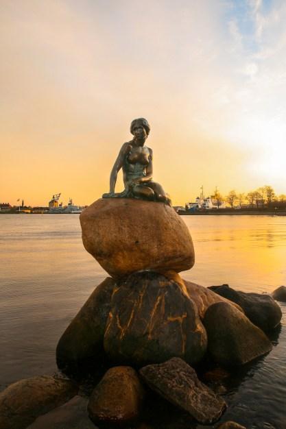 Kopenhagen -zeemeermin