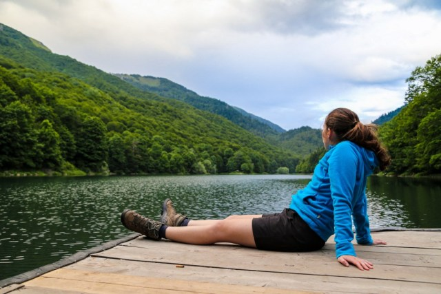 Reizen Montenegro - Biogradska Gora - pier