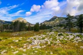 Reizen Montenegro - de zwarte bergen