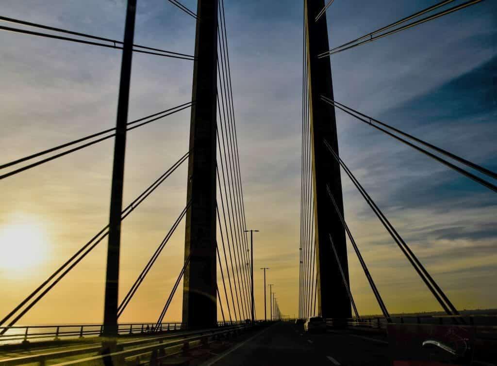 Bridge Sweden to Denmark