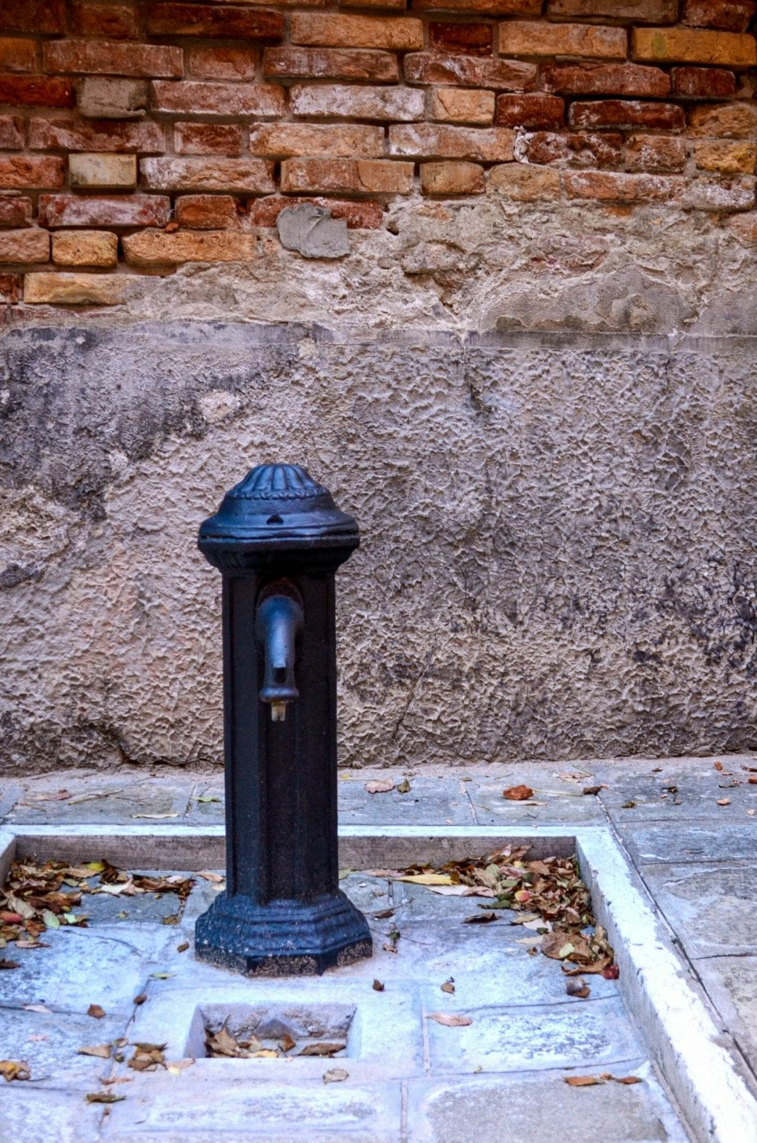 Rome Water source, Italy