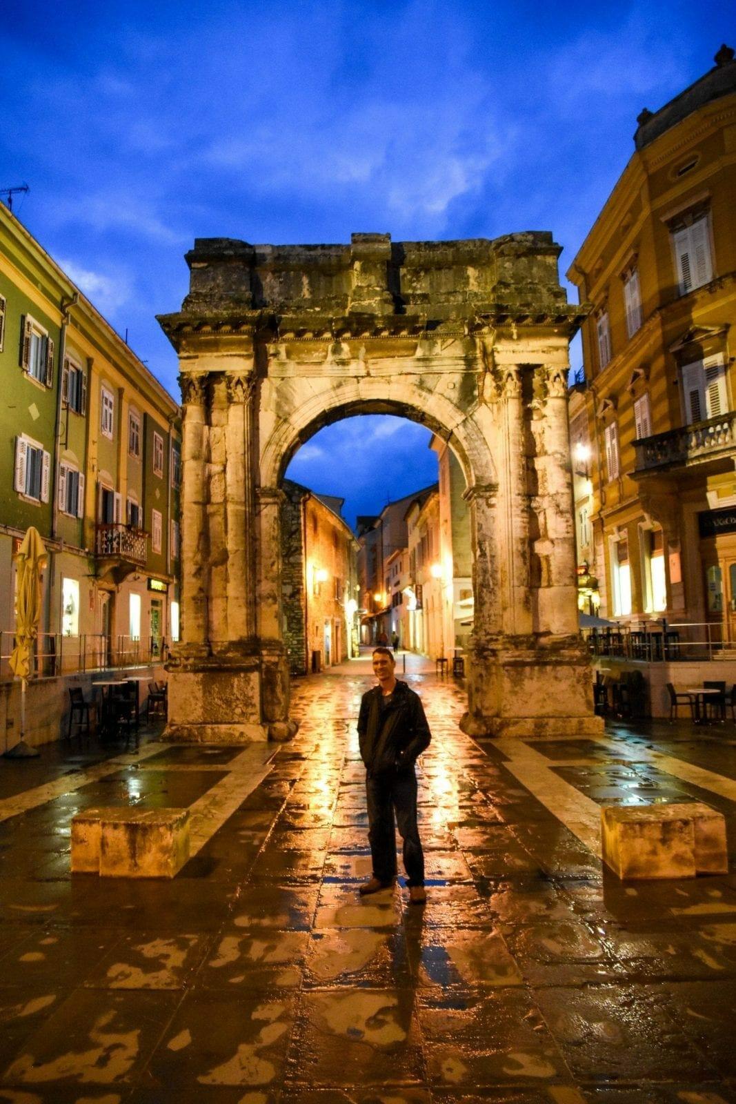 Arch of the Serfii, Pula, Croatia