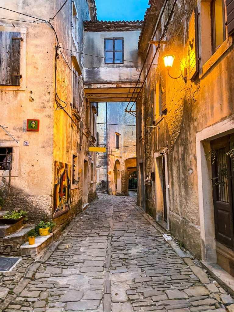 Hill Towns of Istria, Croatia