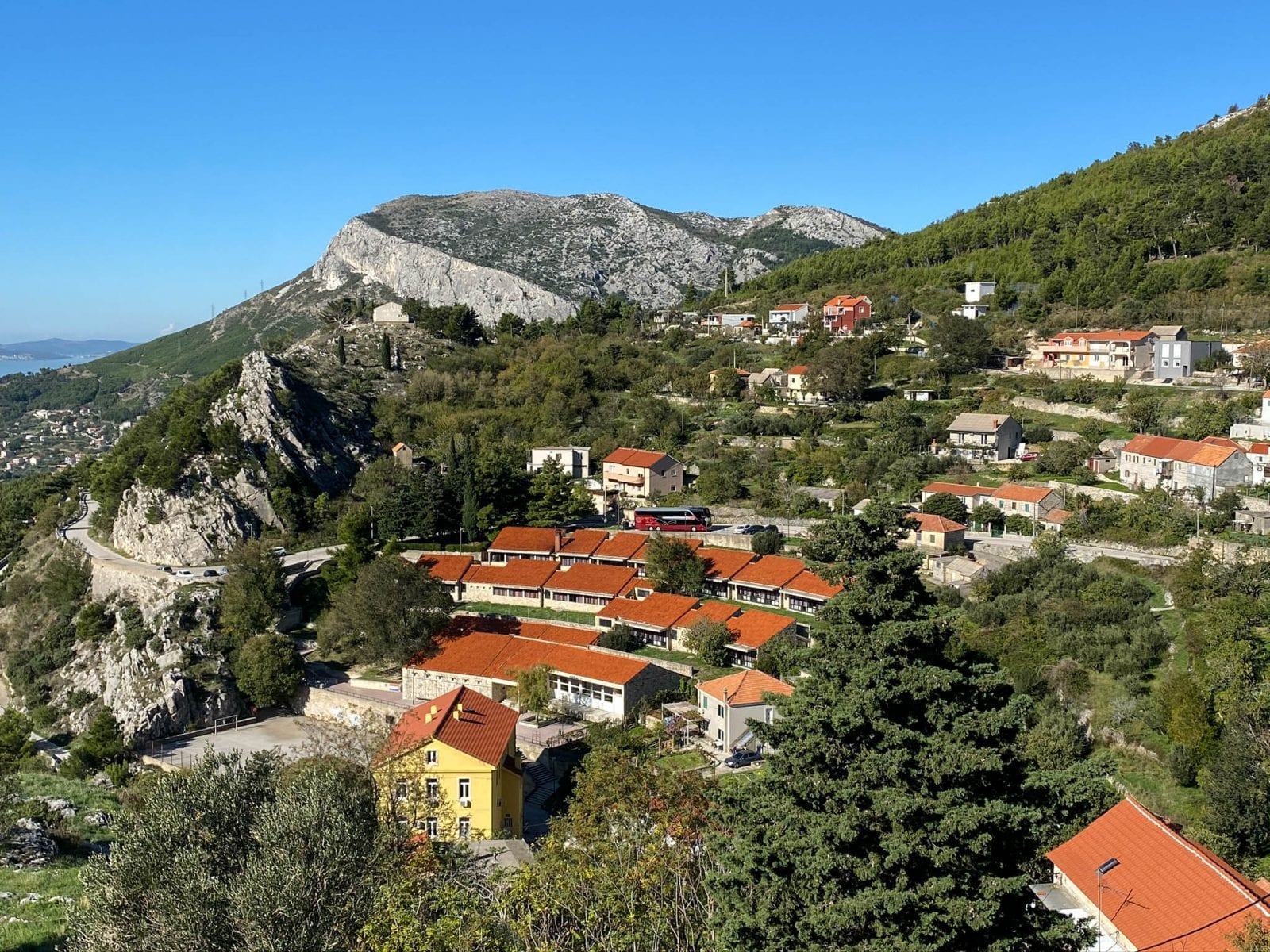 View from Klis Fortress