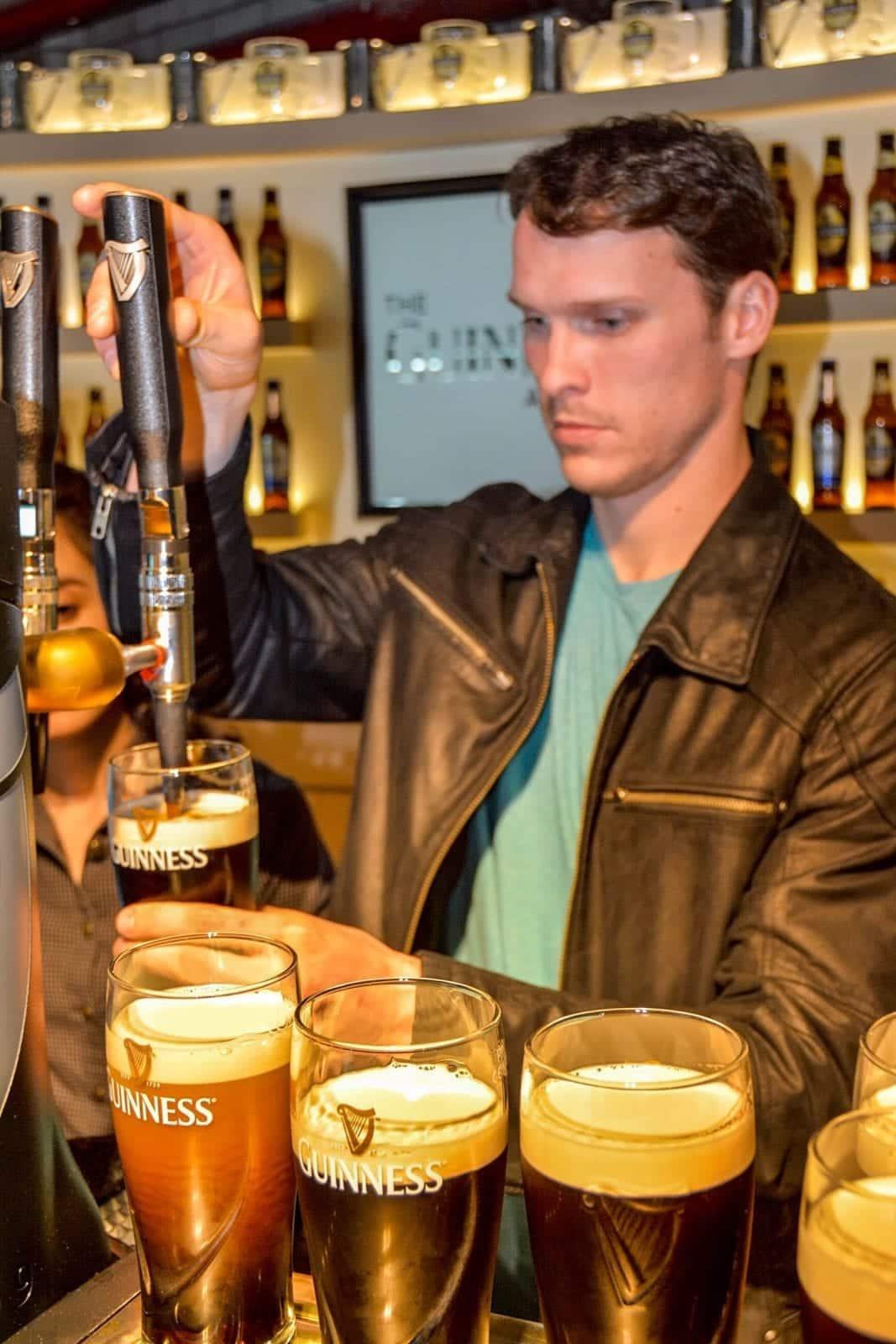 Guinness tour, Dublin,