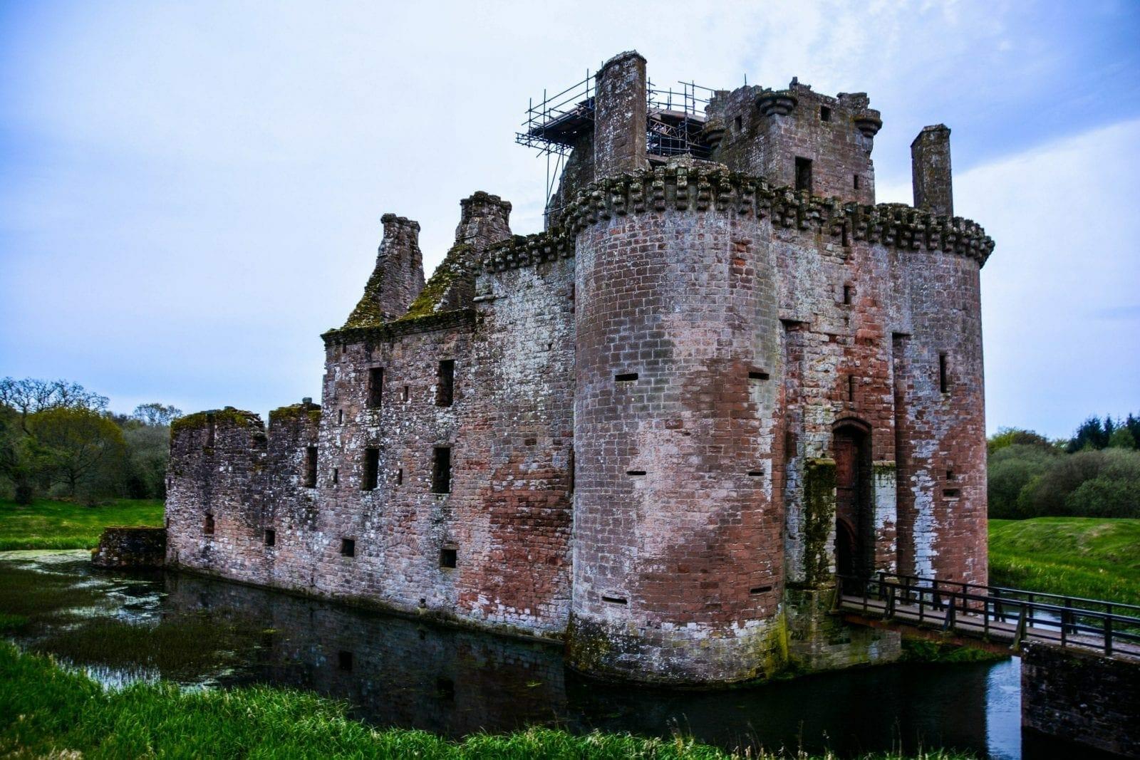 Dumfries Castle Scotland UK