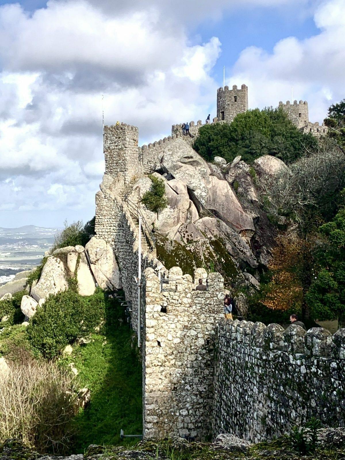 Moor Fortress, Pena Portugal