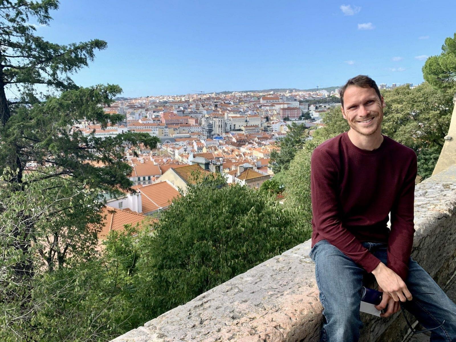 Ryan in Lisbon