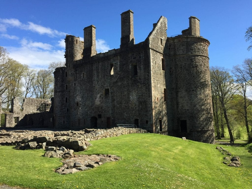 Huntly Castle Scotland