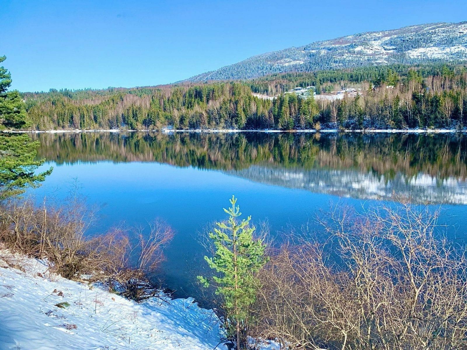 Norway train ride Oslo-Bergen