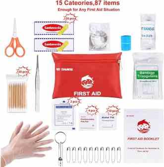 First aid kit  Travel essentials