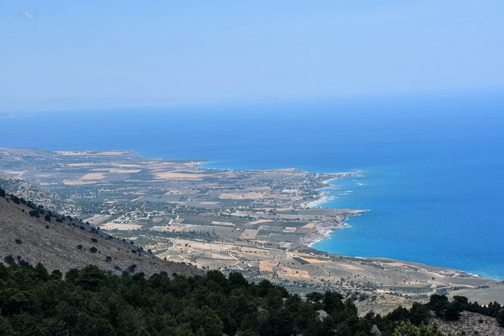 Crete south shore