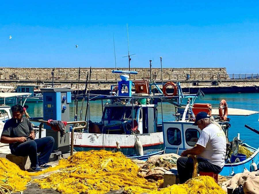 Heraklion fishermen