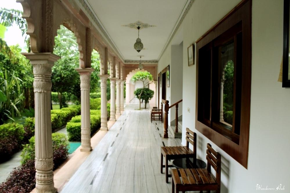 Bharatpur Sunbird hotel lobby