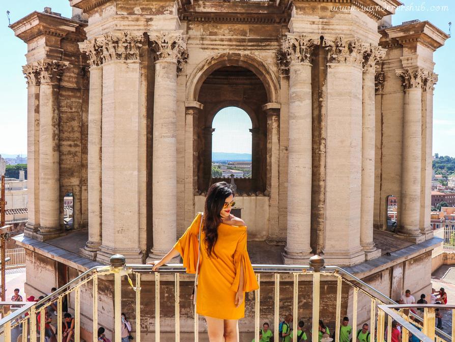 Climbing Vatican City