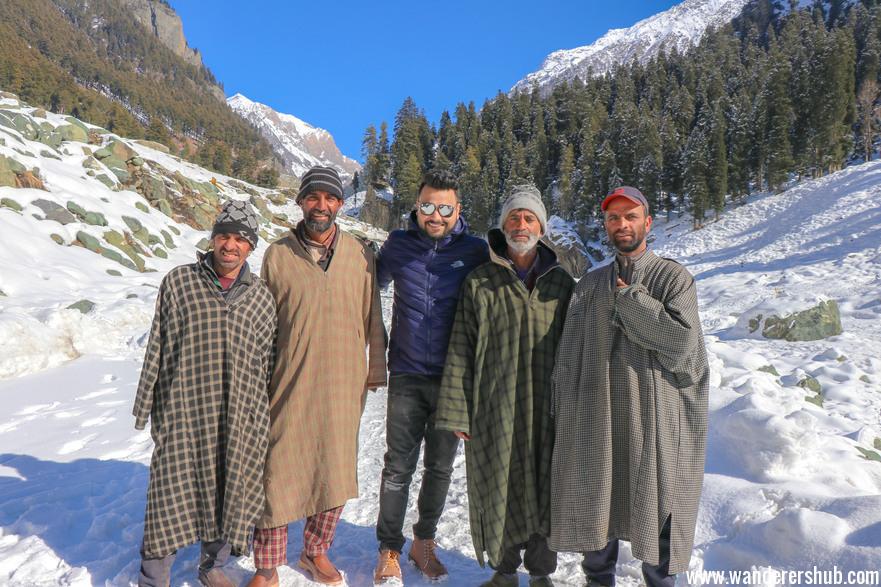 Friends in Kashmir