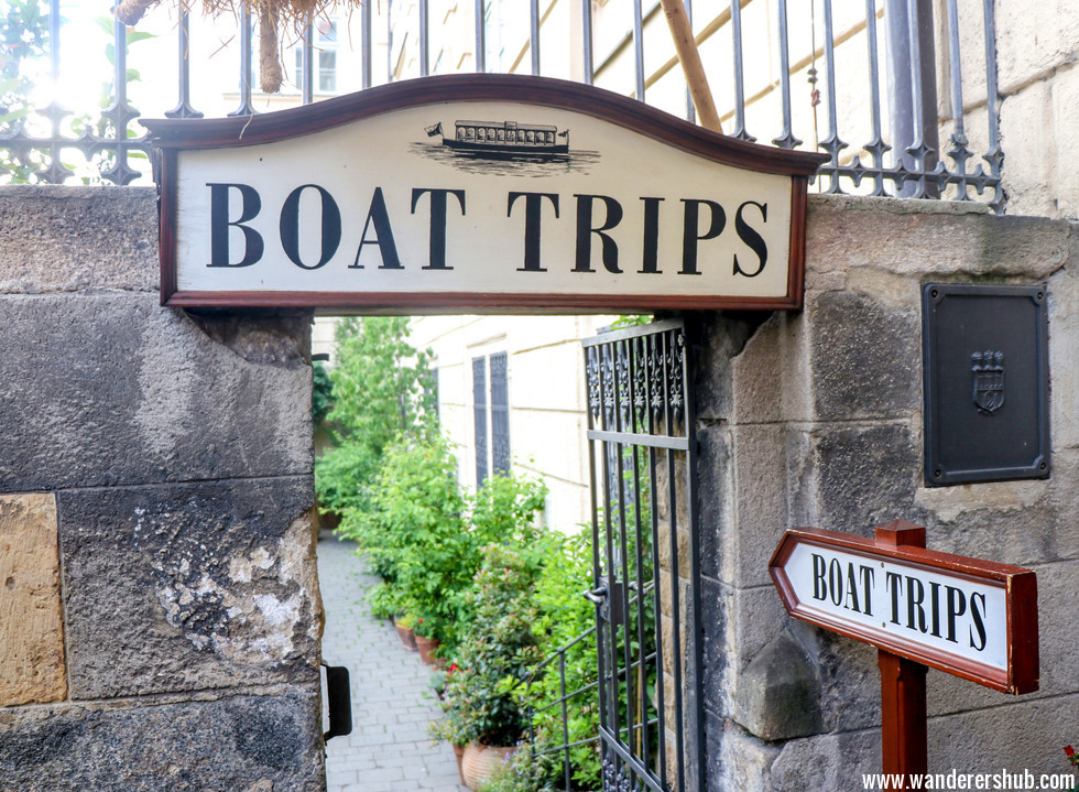 boat trip Prague