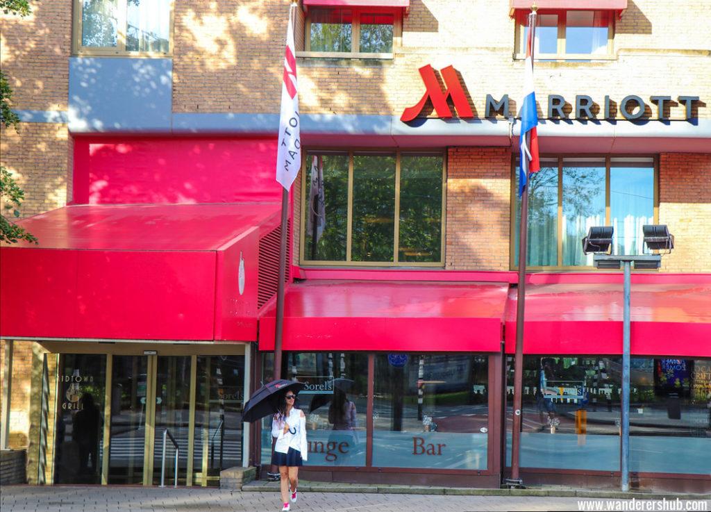 Marriott Amsterdam hotel location