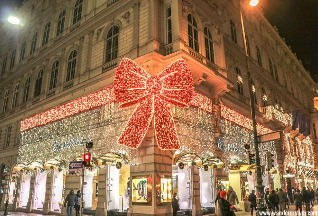 Vienna in winter time
