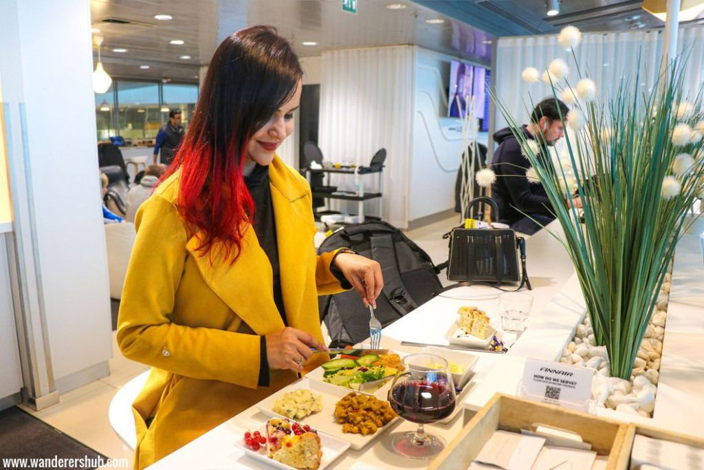 Finnair airline lounge review