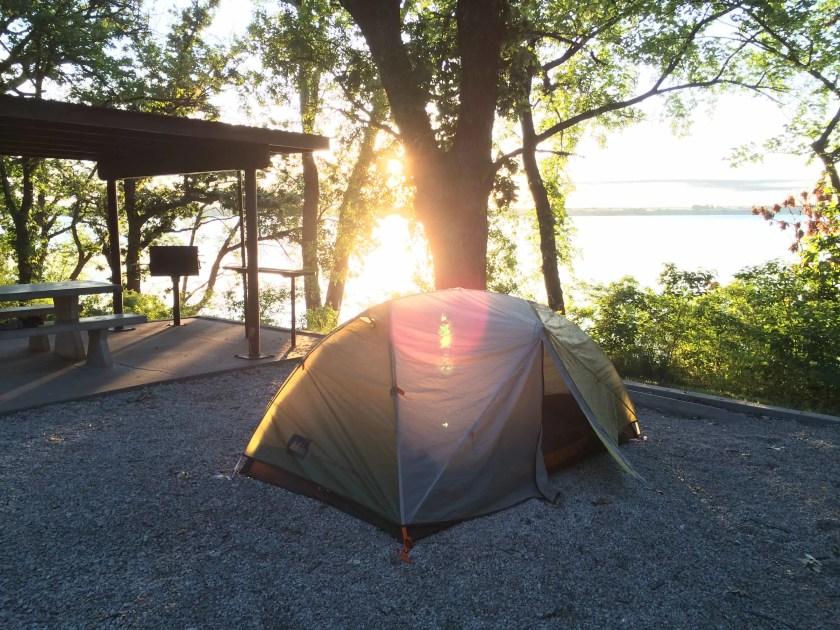 Tent at Sunrise