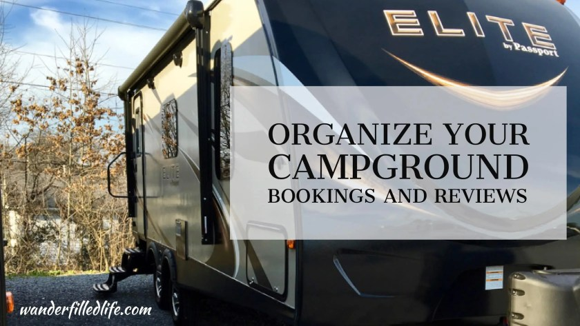 Organize Your Campground Bookings and Reviews