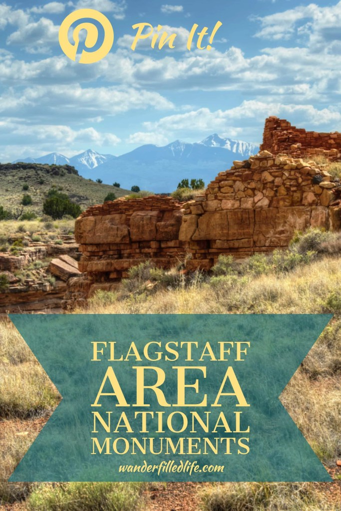 Flagstaff, AZ is home to three very different national monuments: Walnut Canyon, Sunset Crater Volcano and Wupatki, which are easily visited in a day.