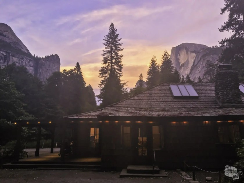 Half Dome Village in Yosemite National Park