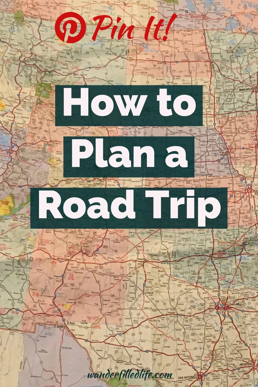 How to plan a road trip, include setting your itinerary, determining your route, making reservations, budgeting and more.
