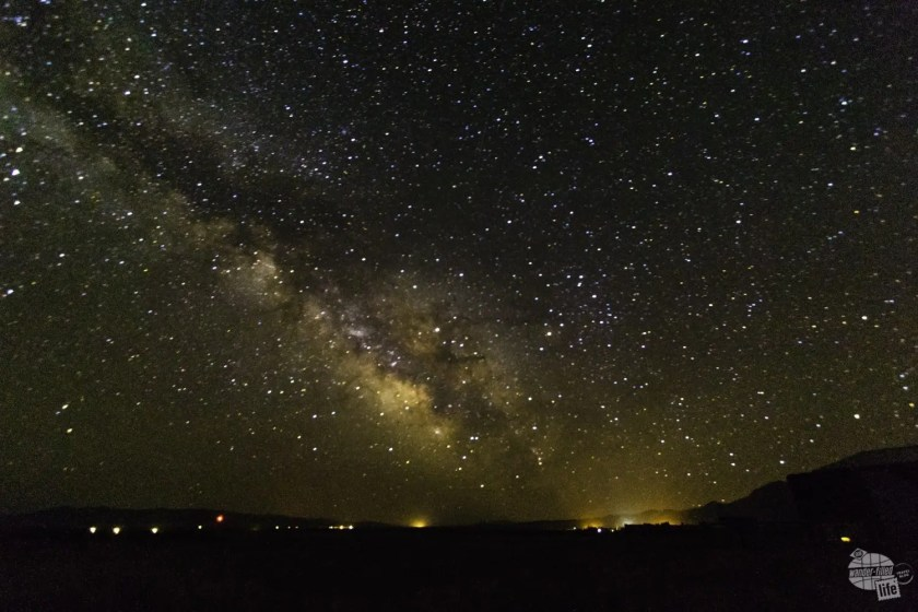 Great Basin NP is a great place to see the Milky Way.