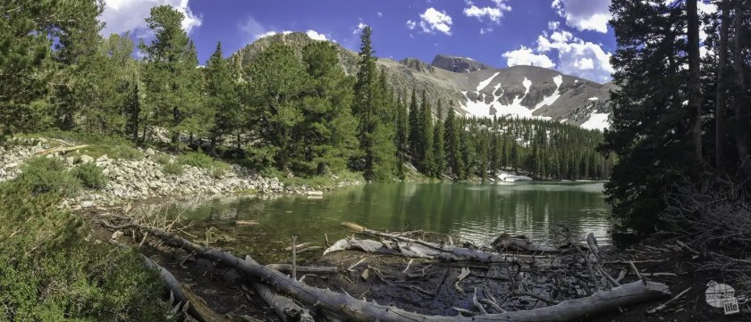 Teresa Lake is a quiet alpine lake in Great Basin.