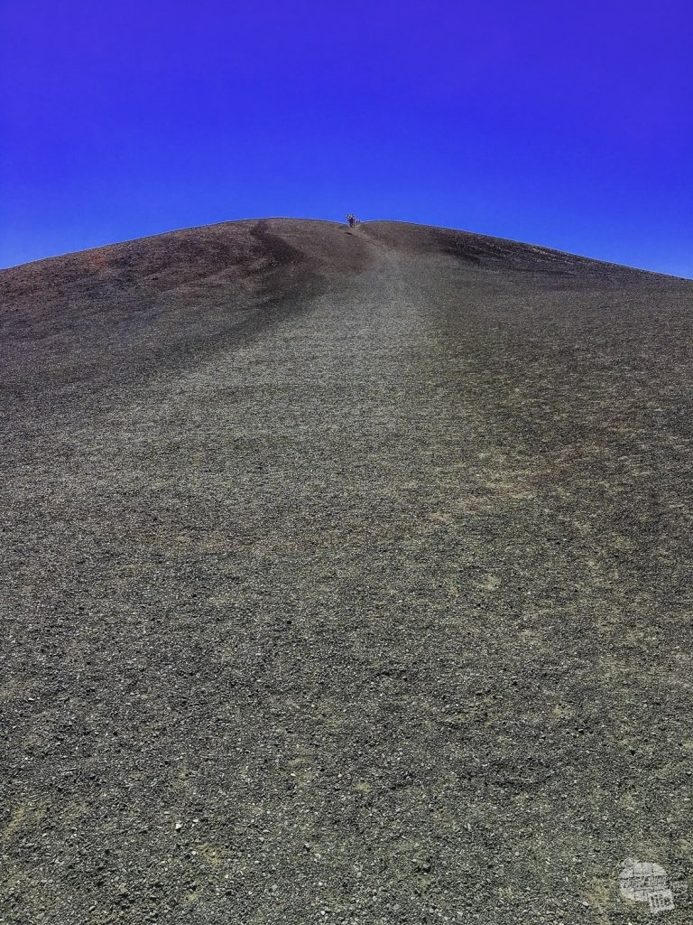 The hike up the Inferno Cone in Craters of the Moon National Monument