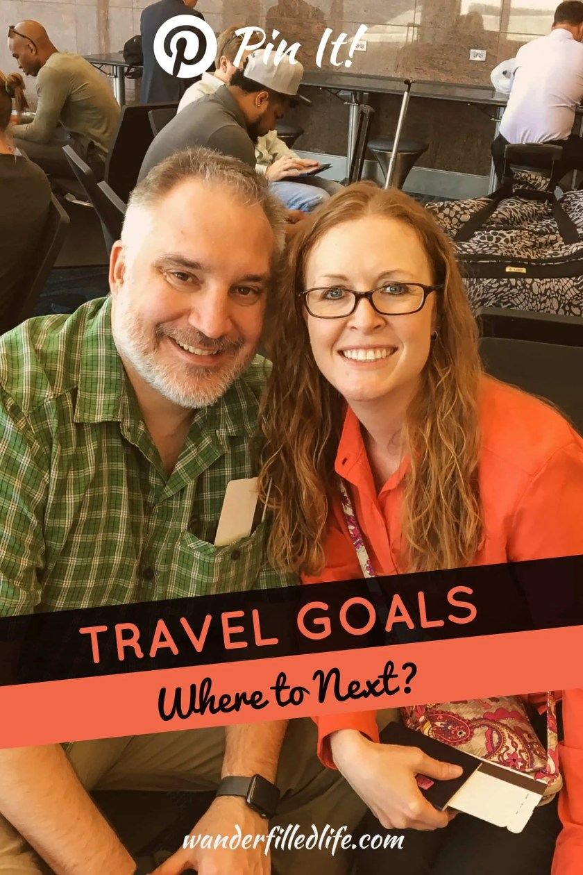 A look at our travel goals, what to expect from us in the coming years and how you can find inspiration to set your own travel goals.
