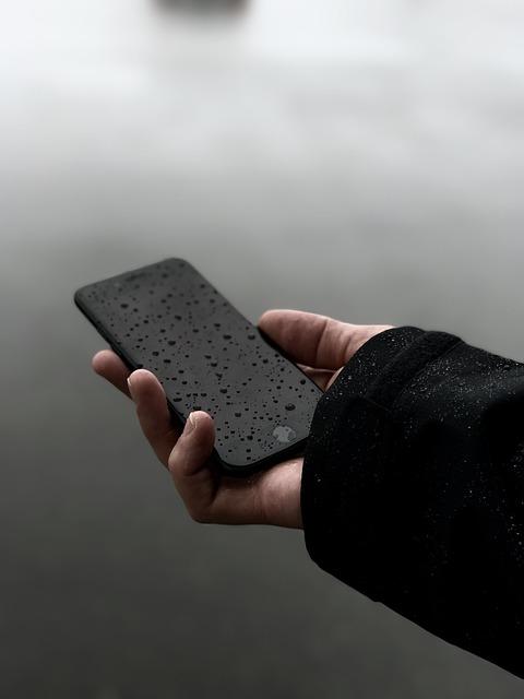 Smartphone nass geworden