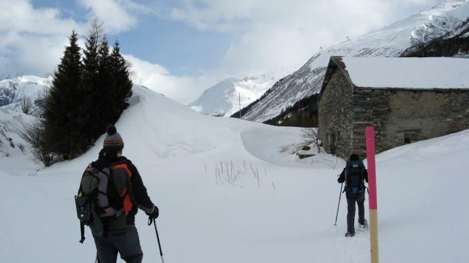 Schneeschuhwandern Zumdorf